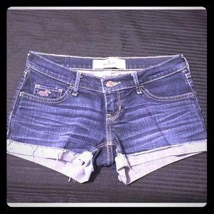 Denim Hollister Shorts